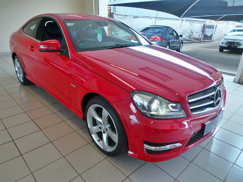 Mercedes-Benz C250CDI BE coupe A/T