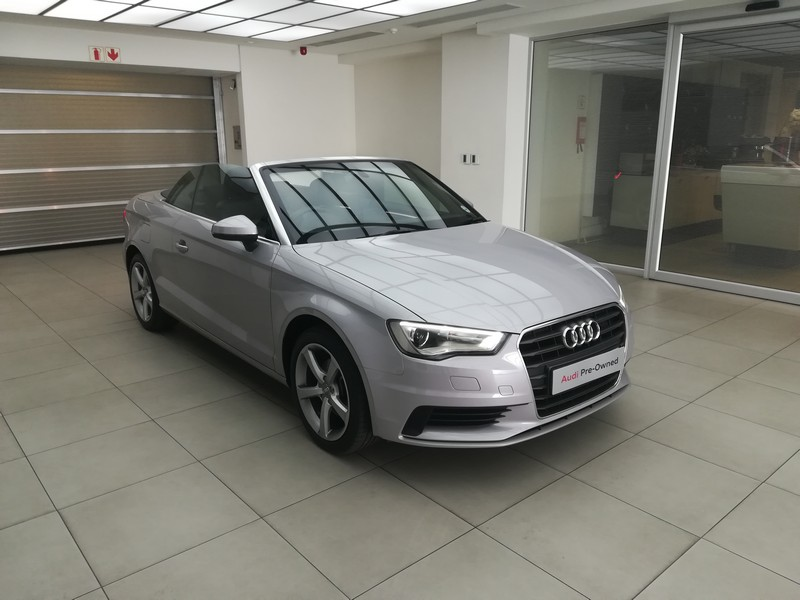 2014 AUDI A3 1.4T FSI S STRONIC CABRIOLET