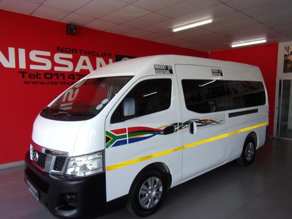 NISSAN NV350 2.5 2016