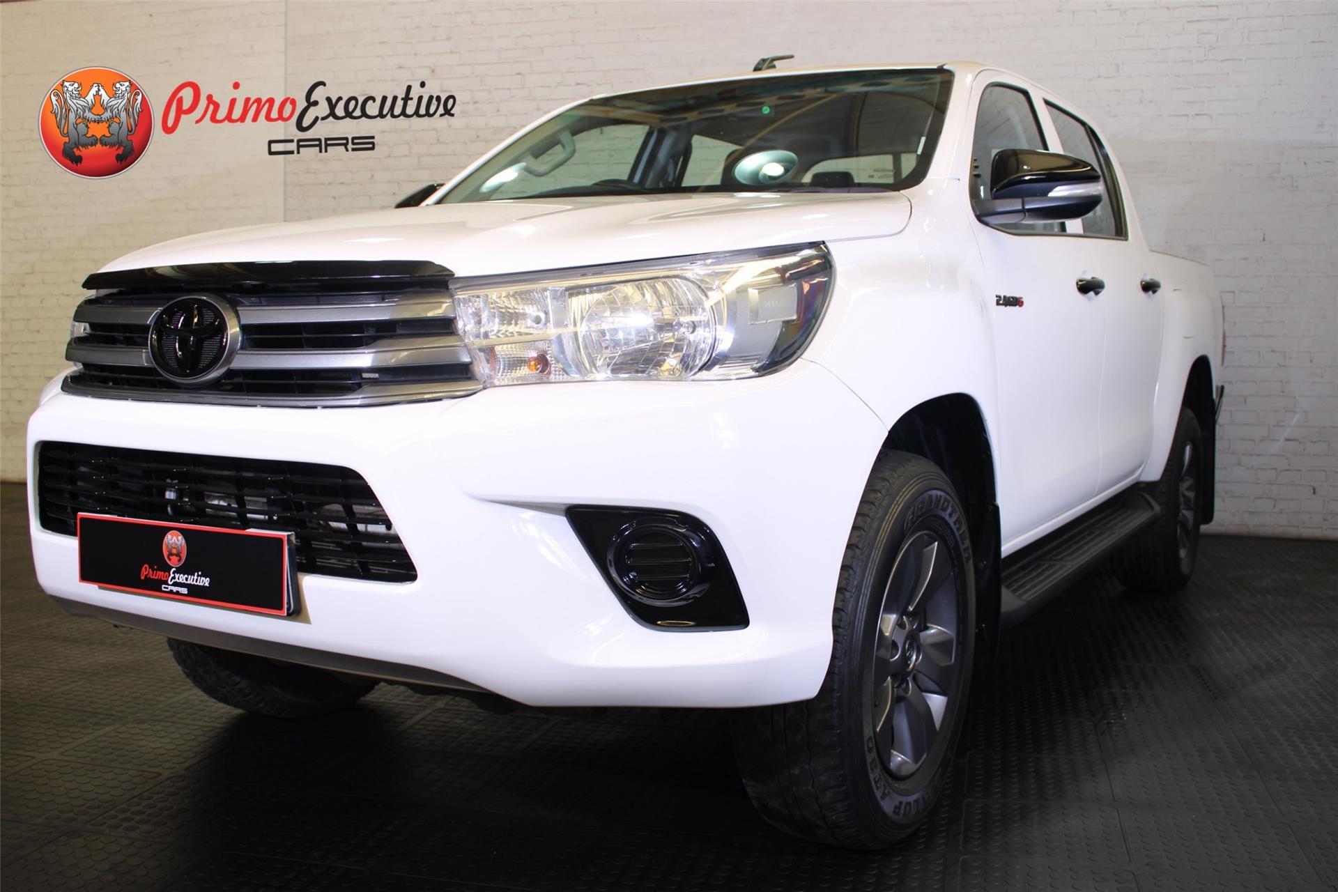 Toyota Hilux 2.4GD-6 double cab SRX