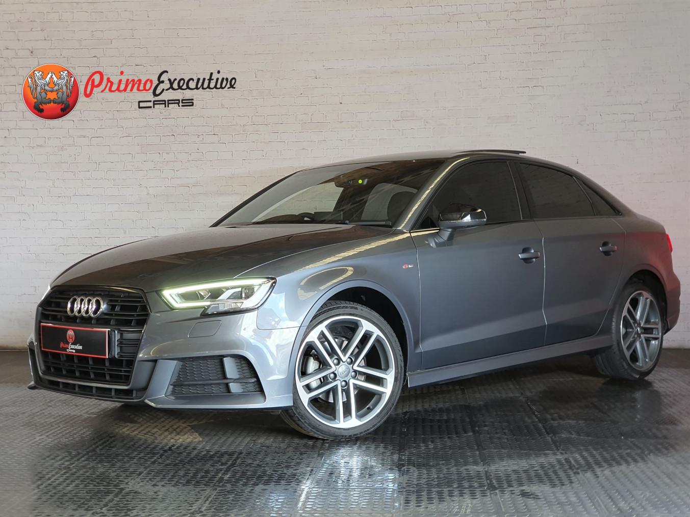 Audi A3 sedan 35TFSI Black Edition