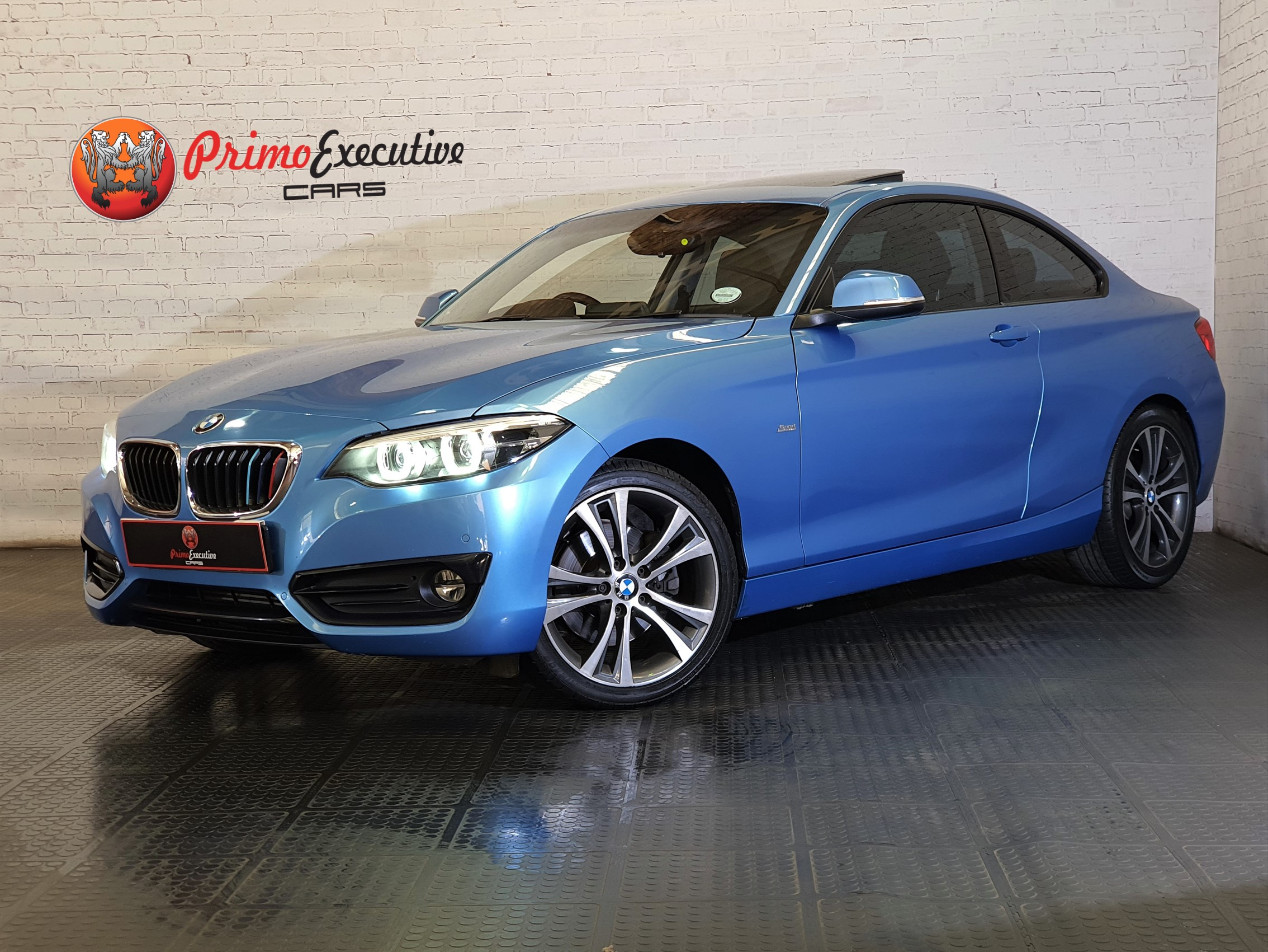 BMW 220d coupe Sport auto